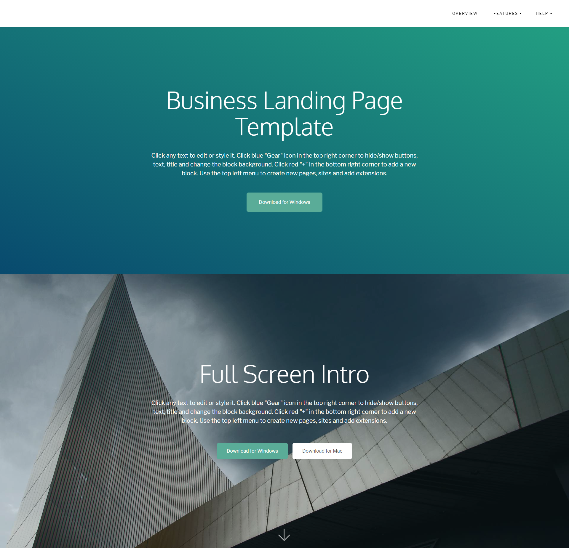 HTML5 Bootstrap DirectM Themes