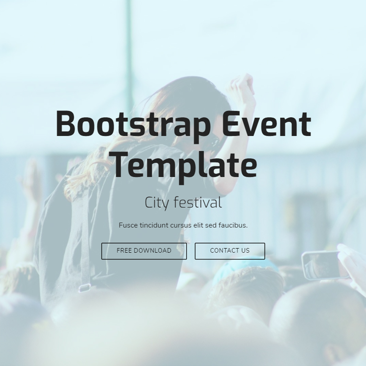 Free Download Bootstrap Event Themes
