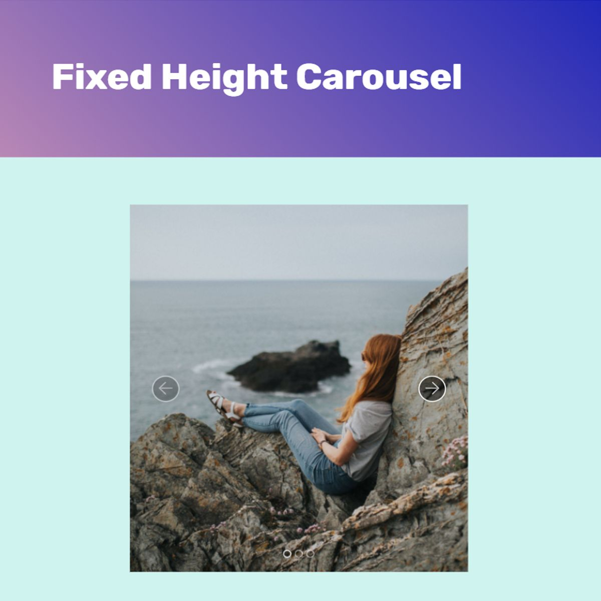 HTML5 Bootstrap Picture Slider